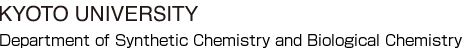 Department of Synthetic Chemistry and Biological Chemistry, Kyoto University